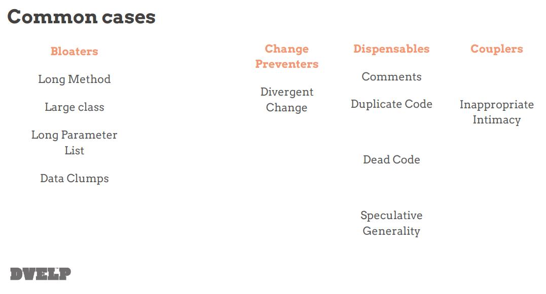 Common cases